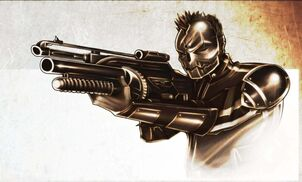 Army of Two Angry Joe armor by MaroBot