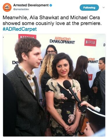 File:2013 Netflix S4 Premiere (arresteddev) - Michael and Alia 01.jpg