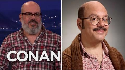 "David Cross Fought For Tobias' Mustache In ""Arrested Development"" - CONAN on TBS"