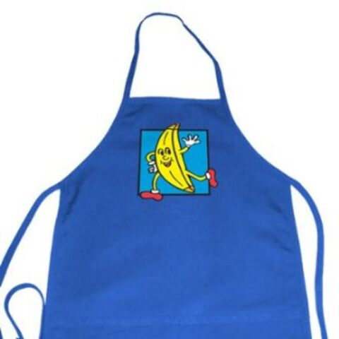 TV Store online version, which more closely matches the apron seen in the show