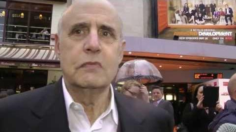 Jeffrey Tambor Interview - Series 4 Premiere