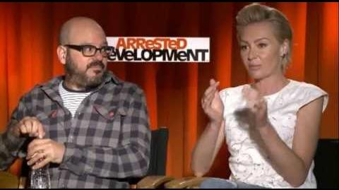 Portia de Rossi and David Cross on 2013 'Arrested Development'