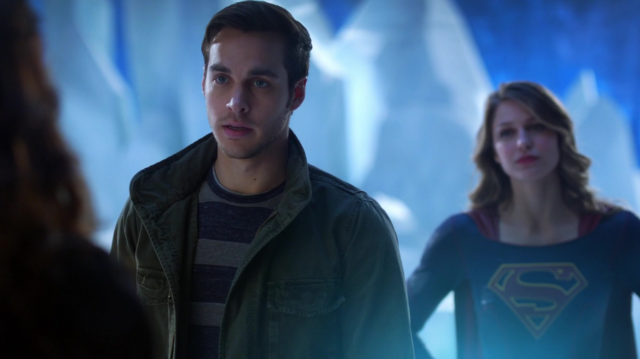 Archivo:Mon-El, Kara and Rhea in the Fortress of Solitude.png
