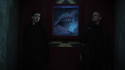 Barry and Snart get halted by King Shark