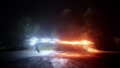 The Flash and Savitar firing massive bolts of lightning at each other.png
