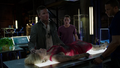 Oliver brings Felicity to the Arrowcave after Werner Zytle's attack.png