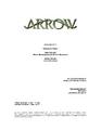 Arrow script title page - Birds of Prey.png
