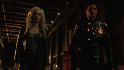Killer Frost and Deathstorm