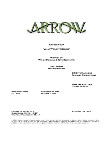 File:Arrow script title page - What We Leave Behind.png