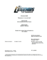 DC's Legends of Tomorrow script title page - Raiders of the Lost Art.png