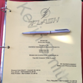The Flash script title page - Killer Frost
