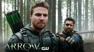 Arrow Lian Yu Extended Trailer The CW