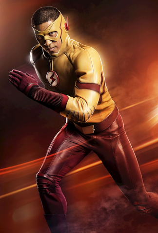 File:The Flash season 3 promo - First look at Kid Flash 2.png