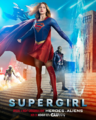 Supergirl season 2 poster - Special 4 Night Crossover Event Heroes v Aliens.png