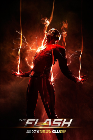 Файл:The Flash Season 2 poster - One more week.png