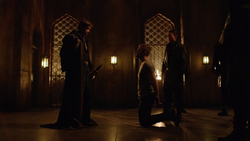 Ra's al Ghul asks Oliver Queen to be his heir