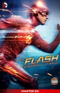 The Flash Season Zero chapter 6 digital cover