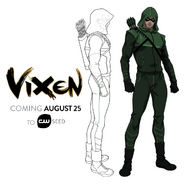 Vixen - Arrow concept art