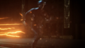 Hunter running as The Flash.png