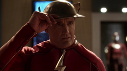 The real Jay Garrick thanks The Flash