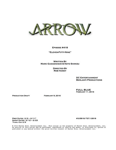 File:Arrow script title page - Eleven-Fifty-Nine.png