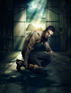 Arrow promo - A heroic future forged by a tortured past - textless