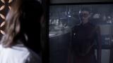 Eliza hallucinates seeing Trajectory in a reflection