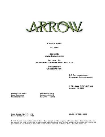 File:Arrow script title page - Taken.png