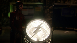 The Flash signaling light