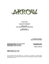 Arrow script title page - League of Assassins.png