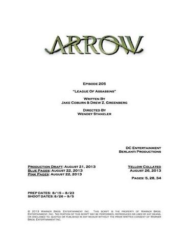 File:Arrow script title page - League of Assassins.png
