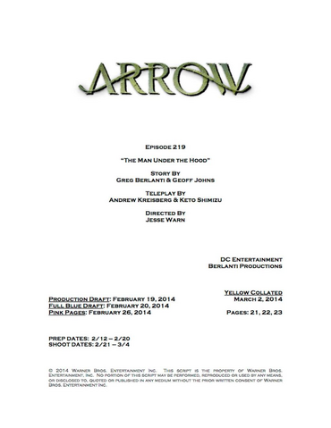 File:Arrow script title page - The Man Under the Hood.png