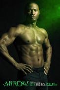 John Diggle season 2 shirtless promo