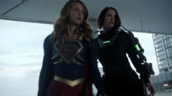 Supergirl and Alex vs Metallo