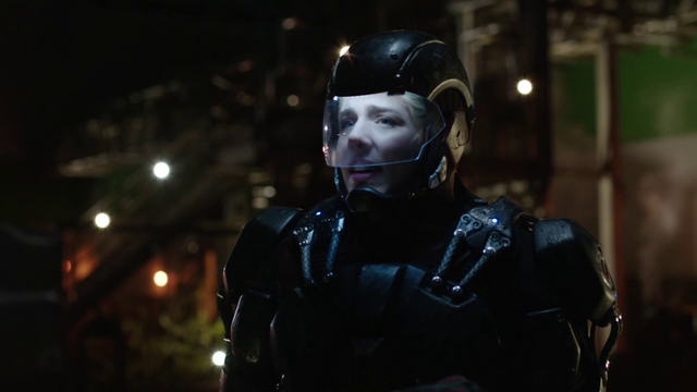 File:Felicity wearing the A.T.O.M. Exosuit.png