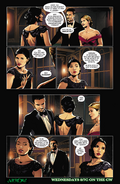 Arrow comic sneak peek - Genesis