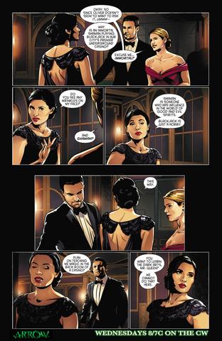 File:Arrow comic sneak peek - Genesis.png