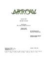 Arrow script title page - Second Chances.png