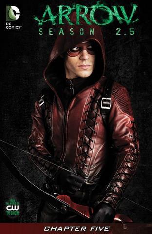 Archivo:Arrow Season 2.5 chapter 5 digital cover.png