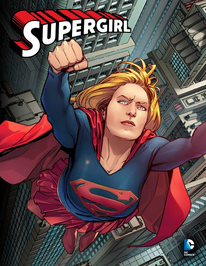 Supergirl promotional art