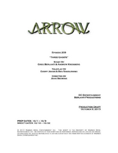 Arrow script title page - Three Ghosts.png