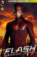 The Flash Season Zero chapter 22 digital cover
