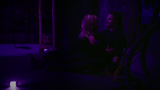 Felicity and Oliver trapped underground