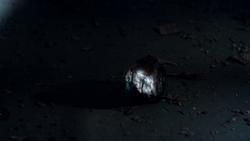Alchemy's stone glows