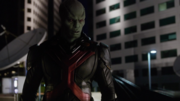 J'onn appears to Astra