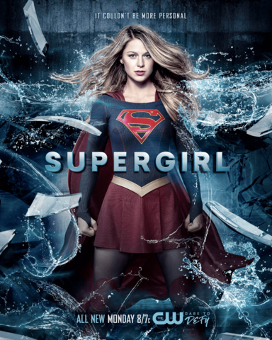 File:Supergirl season 2 poster - It couldn't be more personal.png