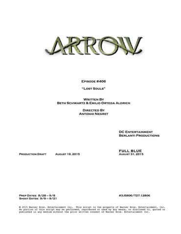 File:Arrow script title page - Lost Souls.png