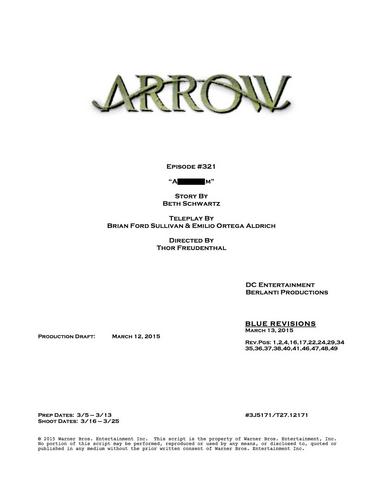 Archivo:Arrow script title page - Al Sah-him.png