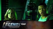 DC's Legends of Tomorrow Land of the Lost Scene The CW