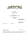 Arrow script title page - Honor Thy Fathers.png